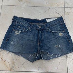 Rag & Bone Short Shorts Size 25